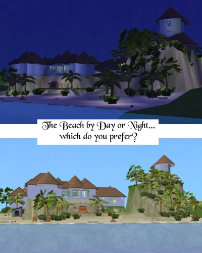 sim day and night pictures. Mod The Sims - Seaside Whimsey