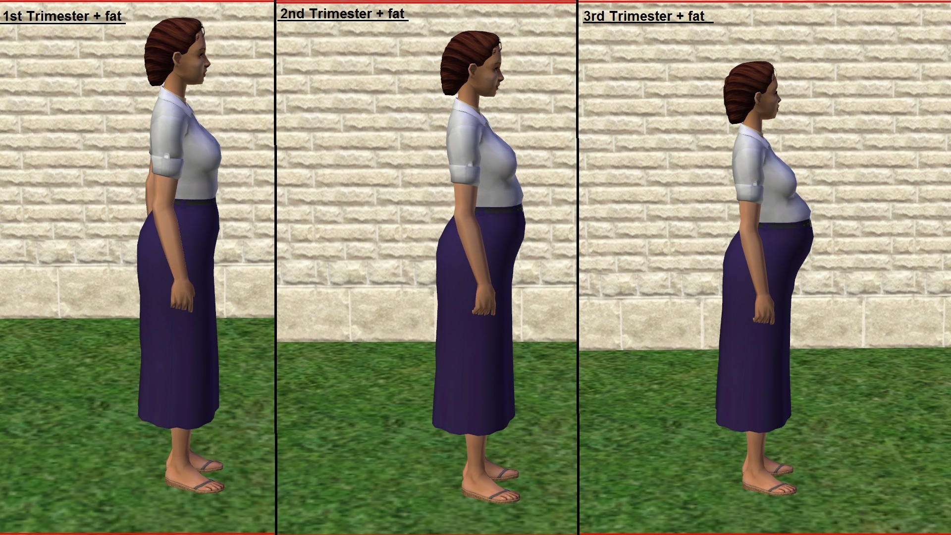 mod the sims 3to2 conversion wa french farmer outfit. Black Bedroom Furniture Sets. Home Design Ideas