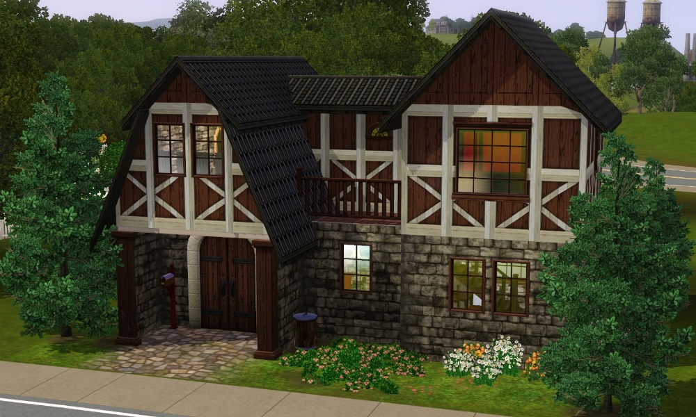 Mod The Sims The Medieval Cottage