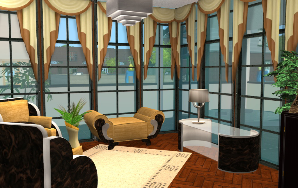 mod the sims cliffe house an art deco inspired house art deco inspired kitchen