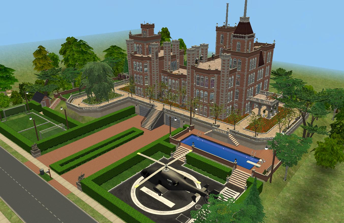 Downton Abbey Floor Plan Mod The Sims X Men Mansion Charles Xavier S School For