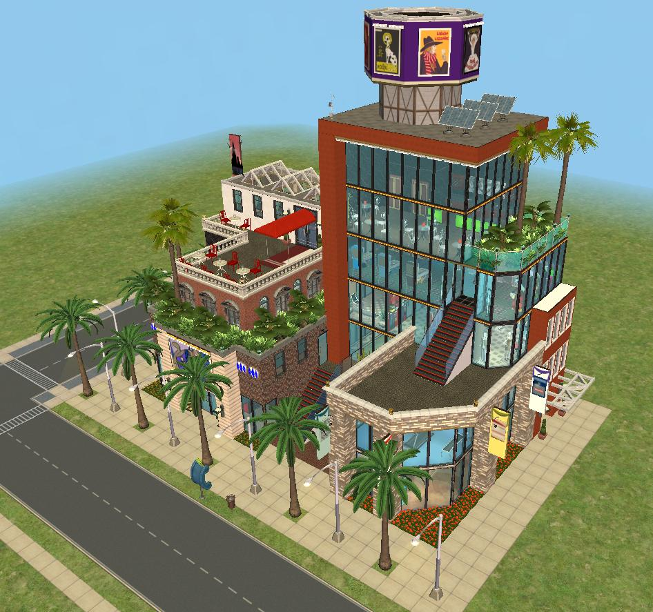 Mod The Sims Coltrane Shopping District Cityville