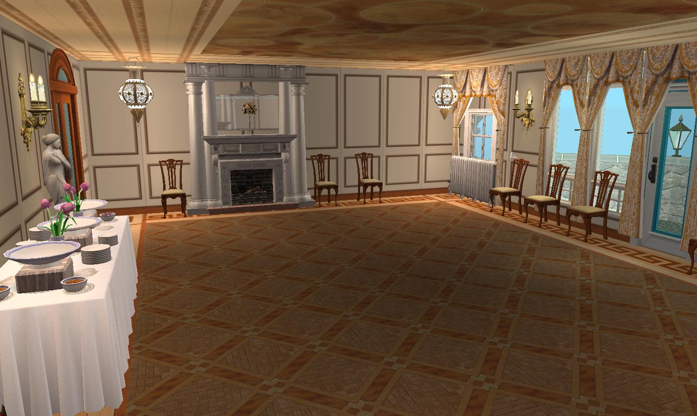 Mod The Sims Hatley Castle Victoria B C No Cc