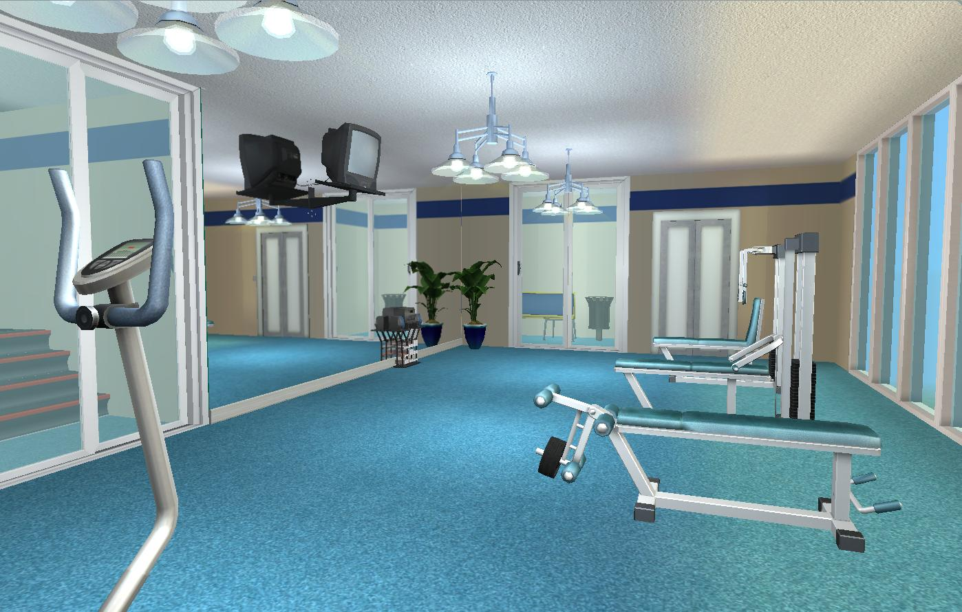 Mod the sims adrenaline gymnasium cityville series