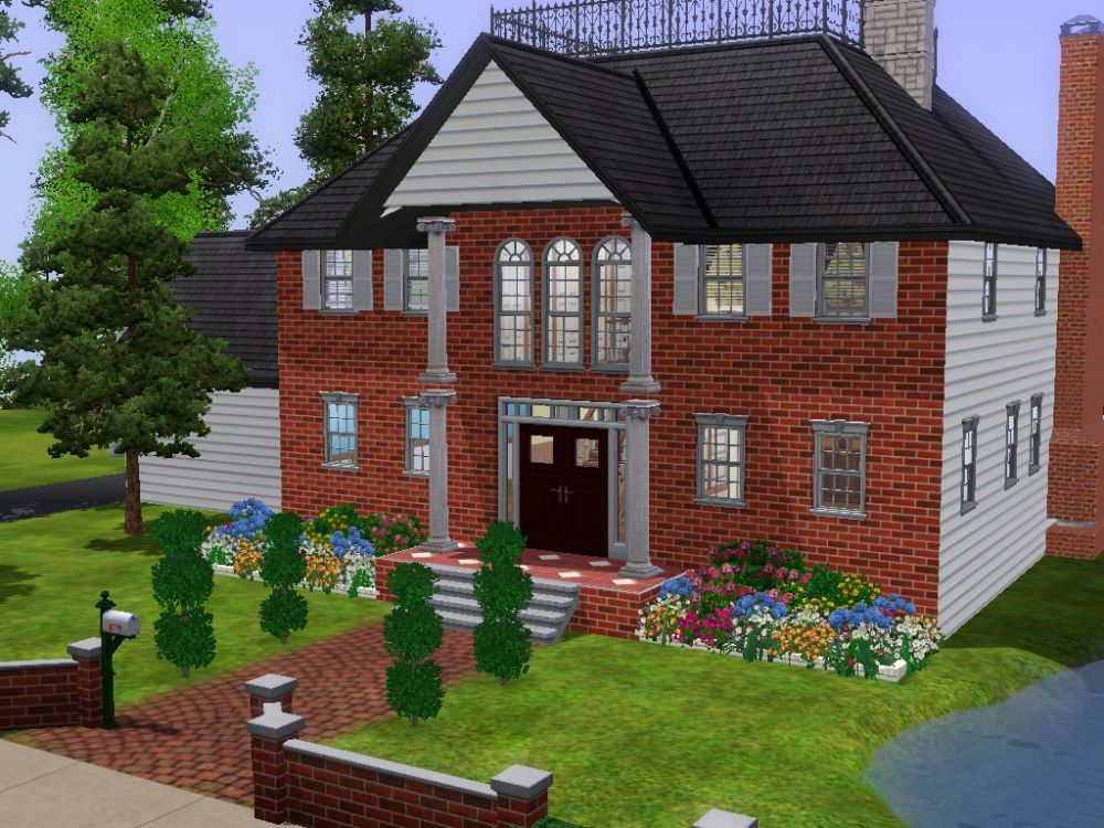 Mod the sims rich sims need houses too for Homes for the rich