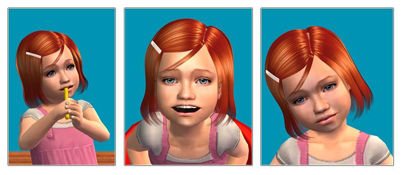 Skysims hair 027 toddler.