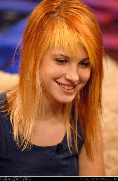 Hayley Williams Hair Style
