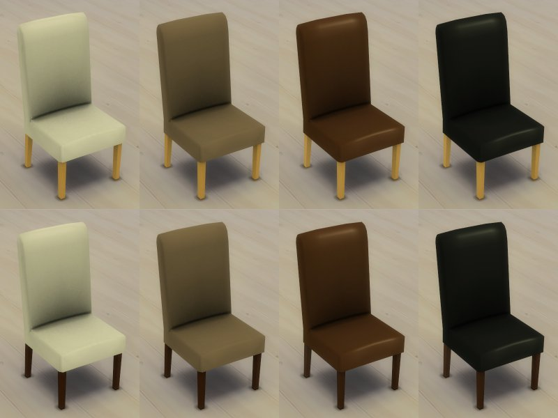 Mod The Sims Modern 6 Seater and 8 Seater Round Dining  : MTSIngeJones 1566254 CompleteChairThumbnails from classic.modthesims.info size 800 x 600 jpeg 45kB