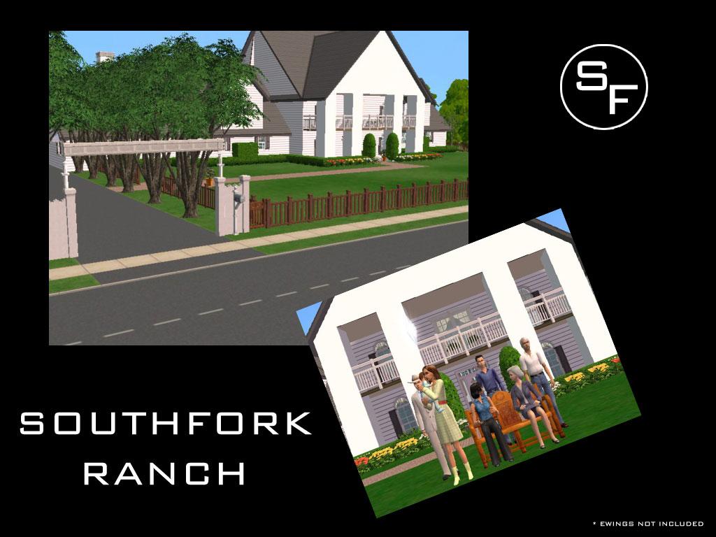 mod the sims southfork ranch click image for larger version name southfork1 jpg size 126 9