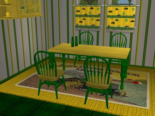 Mod The Sims - John Deere Kitchen and Dining set(RGiles ...