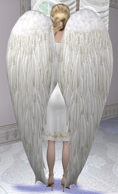Mod the sims archangel wings recolor