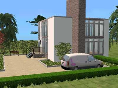 Mod the sims funkis house for Funkis house