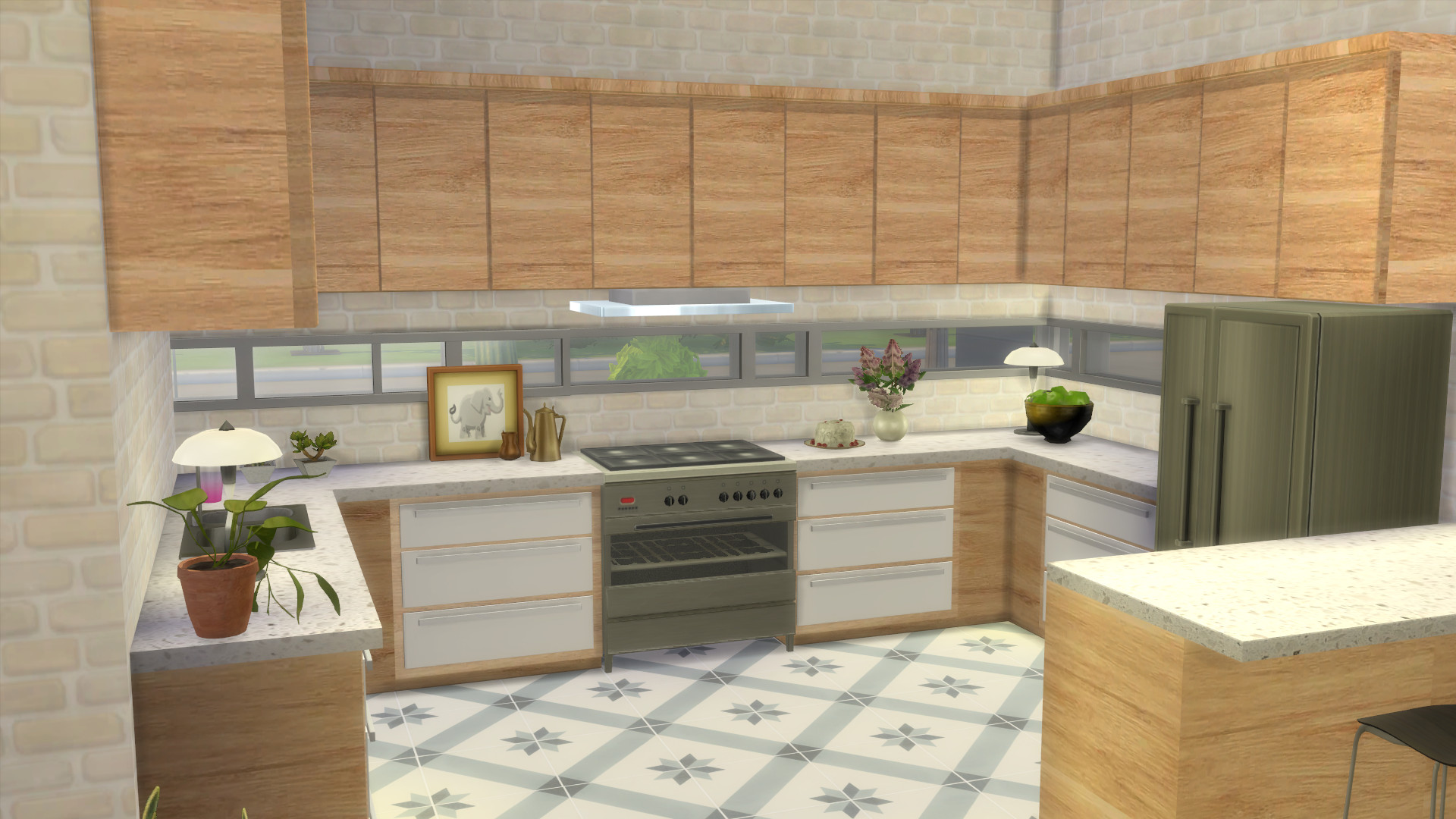 Mod The Sims Kitchen From Perfect Patio Stuff No