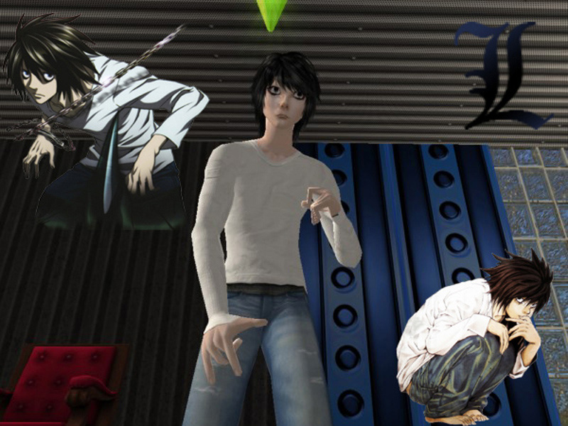 Sims 4 Anime Characters Mod : Mod the sims l from death note