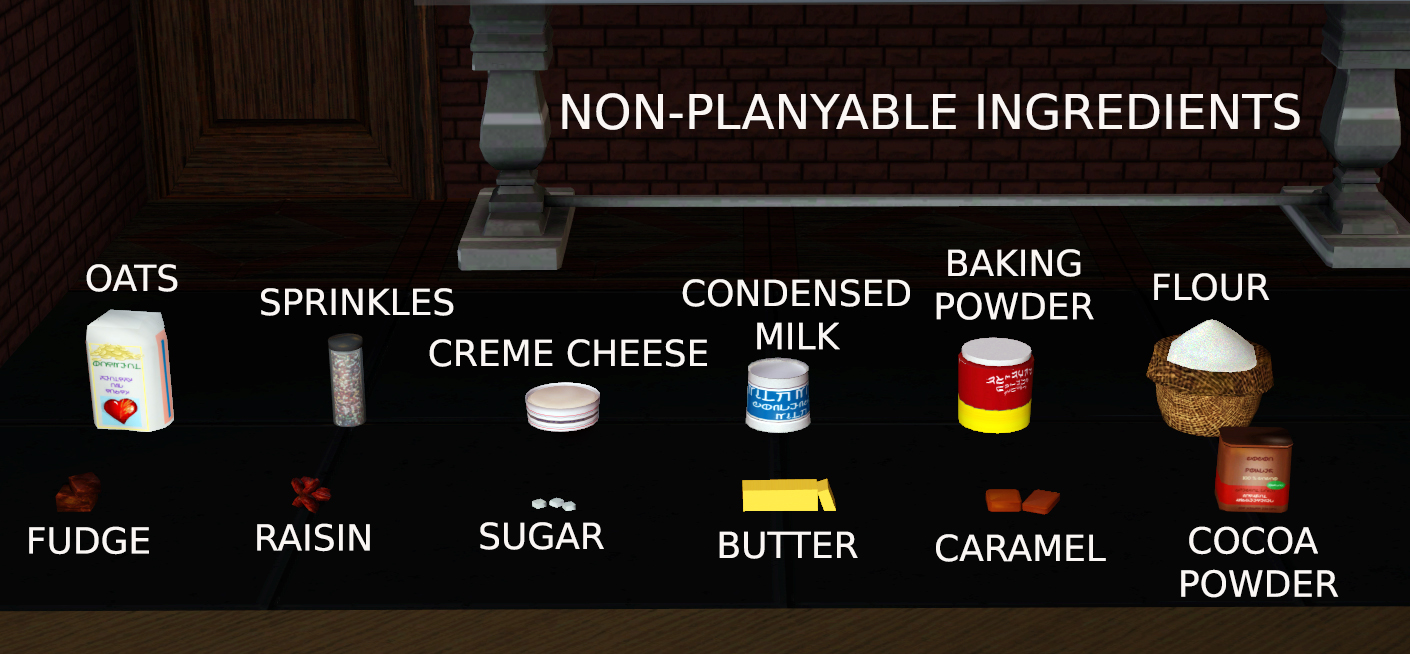 Mod The Sims Baker S Basket Plants Ingredients And Recipes