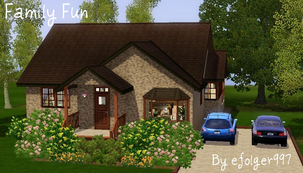 Mod The Sims Family Fun Small Family Home