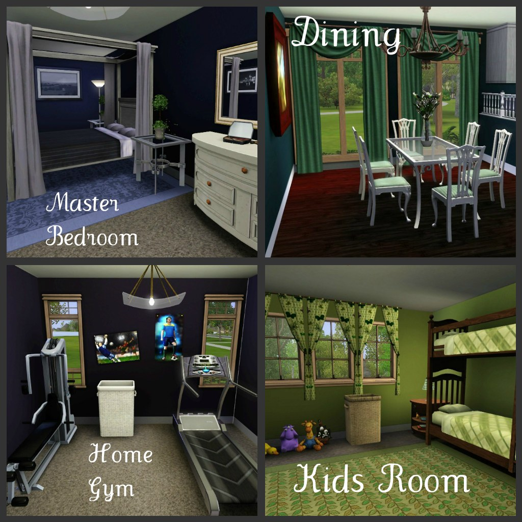 Mod the sims small elegance a family home