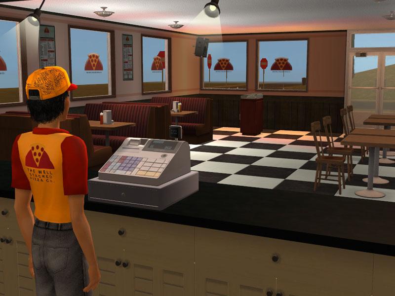 Mod The Sims Gta San Andreas Pizza Restaurant