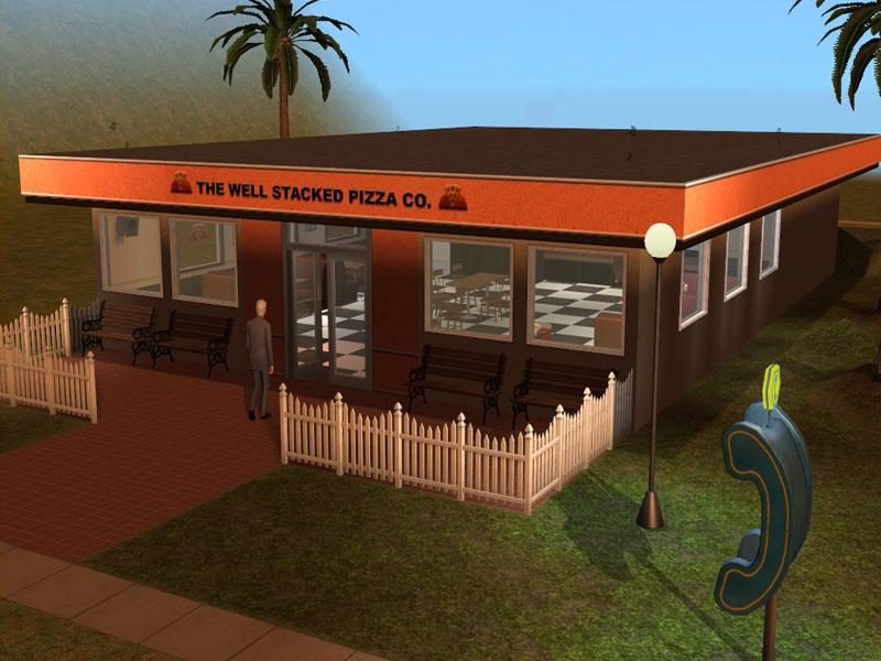 Mod The Sims - GTA: San Andreas Pizza Restaurant