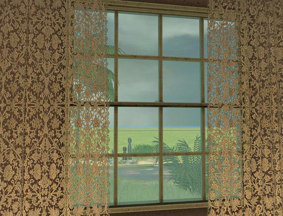 set lace includes 1 antique lace curtains 6 recolors i