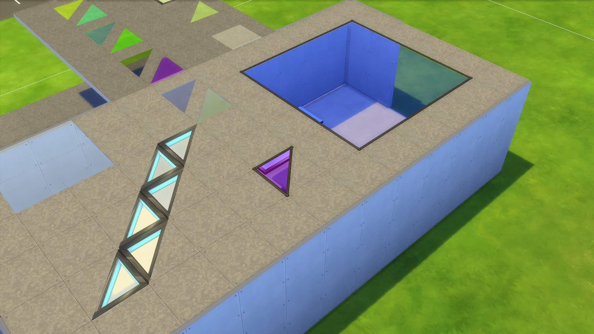 Mod The Sims Various Transparent Floor Pieces Updated