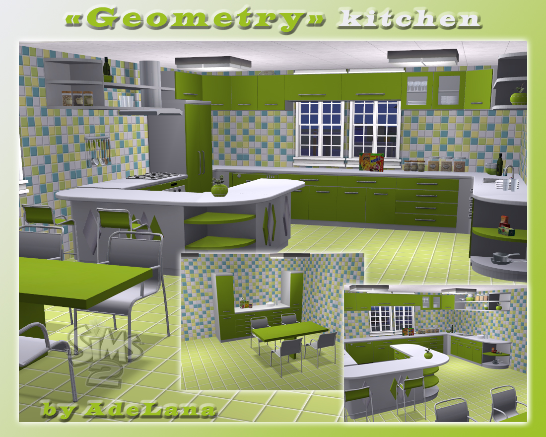 Sims  Cats And Dogs Kitchen Cabinets