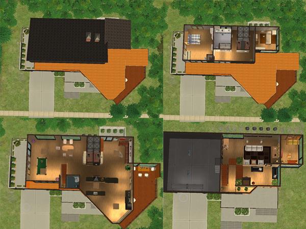 Cullen House Portland mod the sims - twilight: cullen house