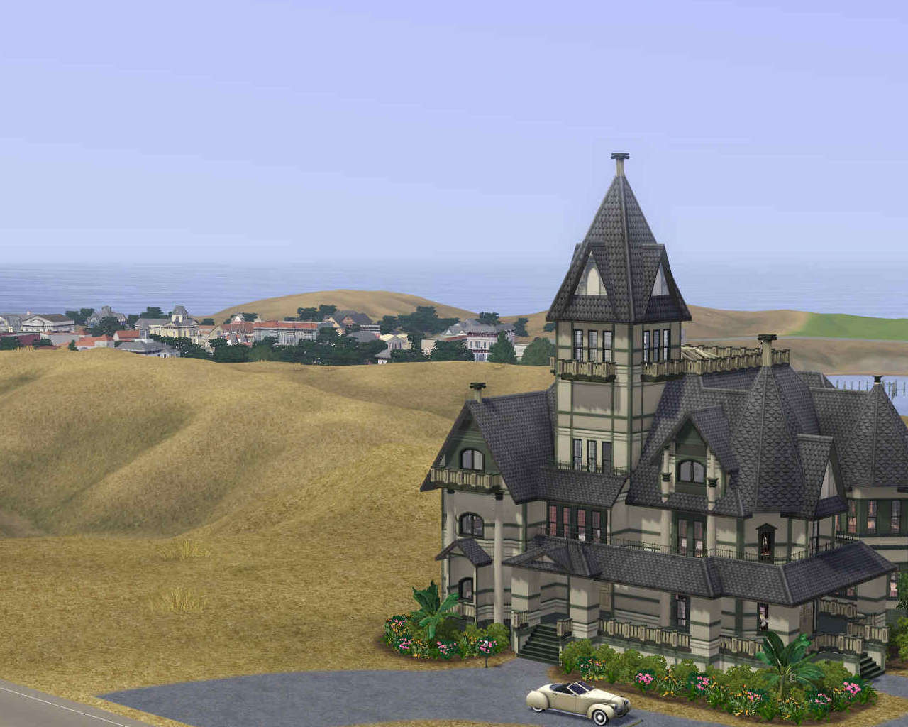 Carson Mansion Floor Plan Mod The Sims Carson Mansion