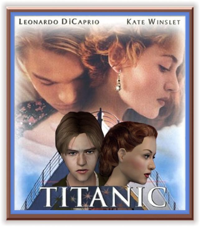 TITANIC (Kate Winslet, Leonardo DiCaprio)