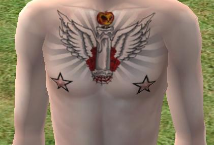Mod The Sims - Off to the Tattoo Parlor - Oldschool Tattoos on pale skin