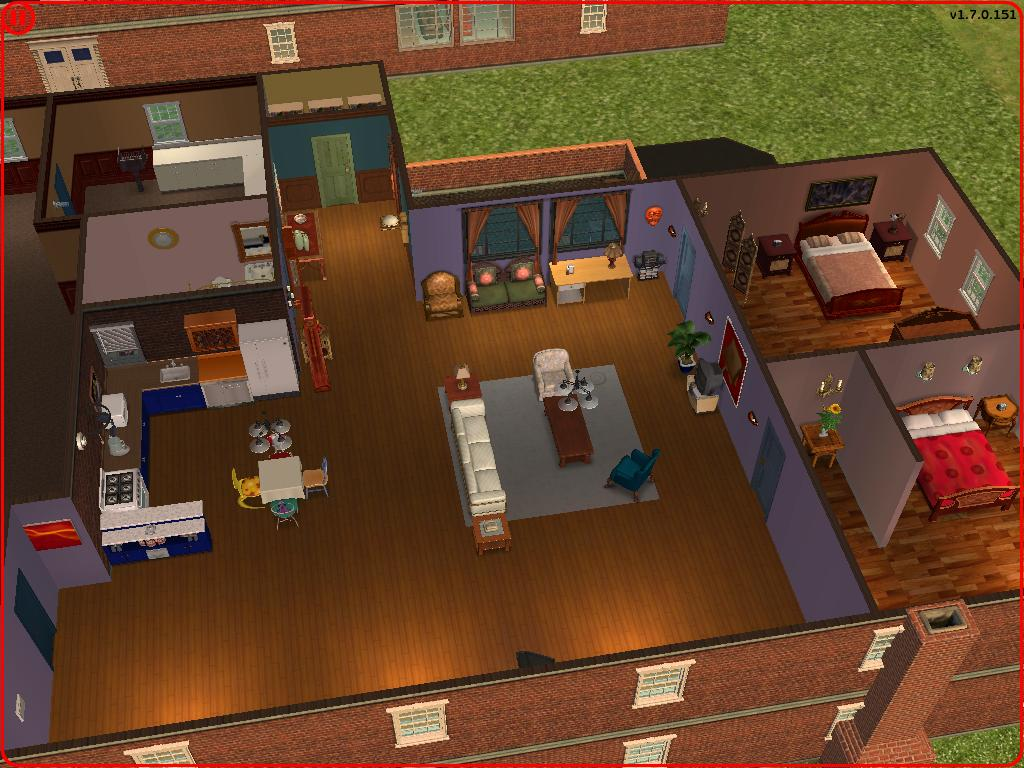 Room Floor Plan Creator Mod The Sims Friends Mansion Light Apartments