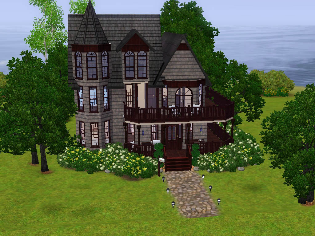 Mod The Sims The Mae Lyn A Victorian House No Cc