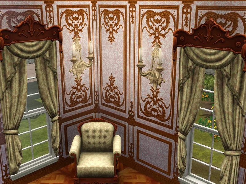 Mod The Sims Versailles One Story Wall Panel