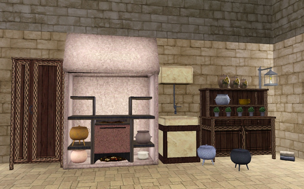 Mod The Sims The Medieval Kitchen Part 1 Ye Olde