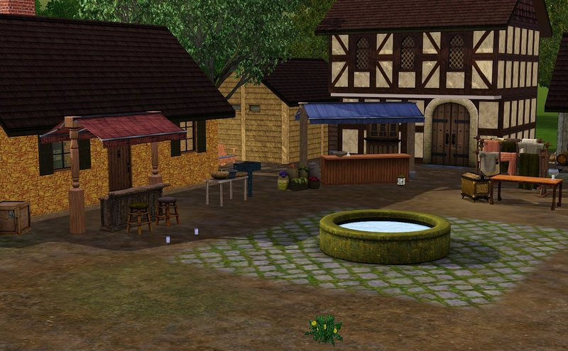 Sims  How To Place Community Buildings