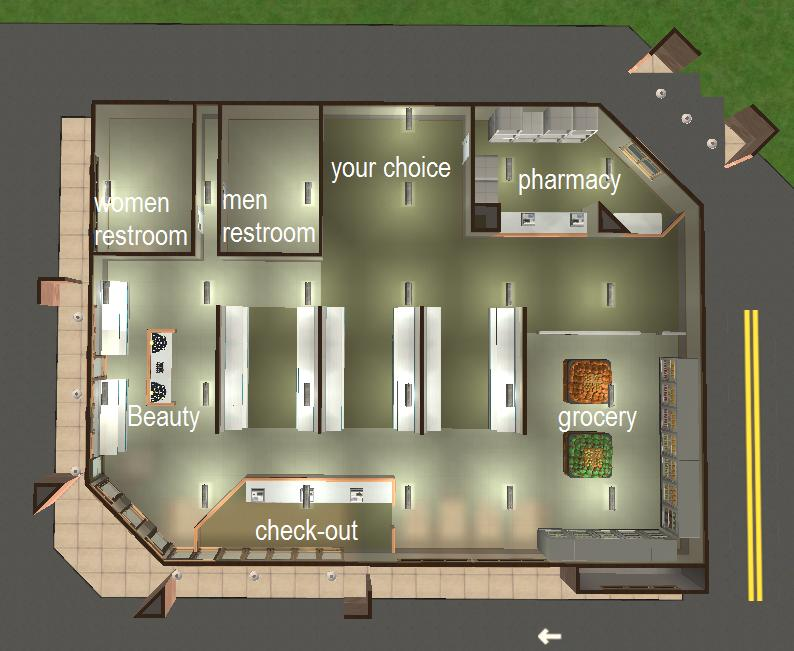 Is a traditional pharmacy floor plan right for you for Pharmacy design floor plans