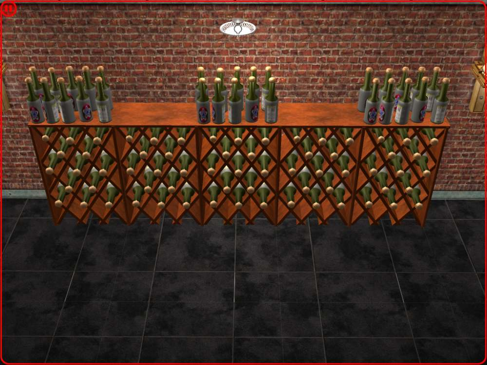 Mod The Sims Updated Build Your Own Wine Cellar New