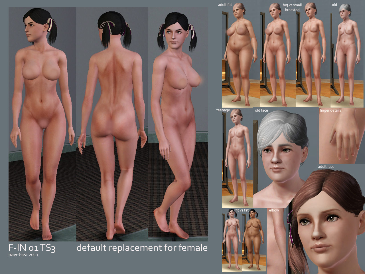 Nude skins for the sims naked images