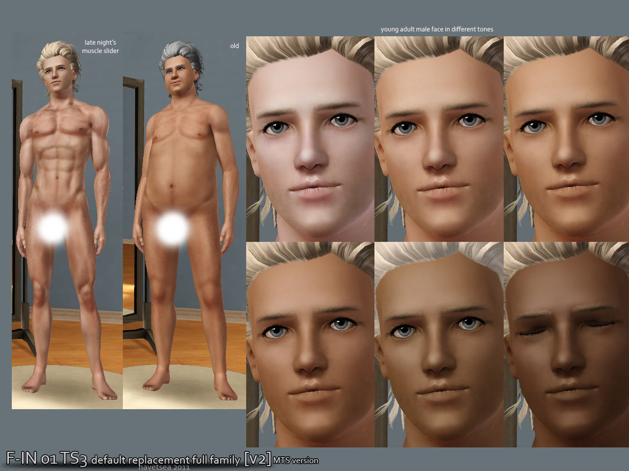 Sims 3 penis nude mesh for male  adult images