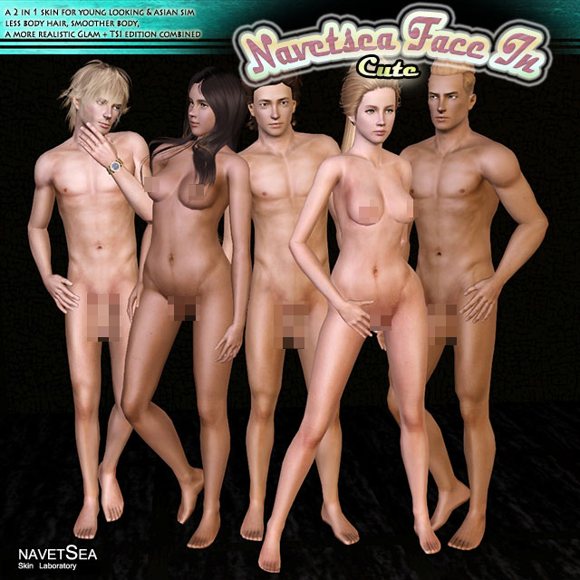 Sims 2 adult skins male nude