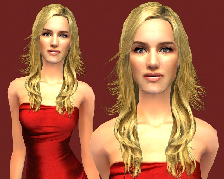 kate winslet titanic hair. Mod The Sims - Kate Winslet