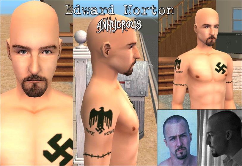 american history x tattoos. (American History X)