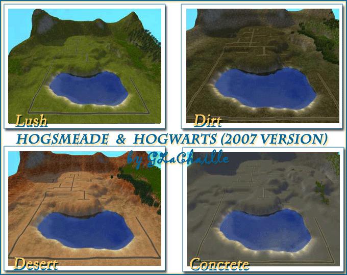 Hogsmeade / Hogwarts (Basic 2007 Version)