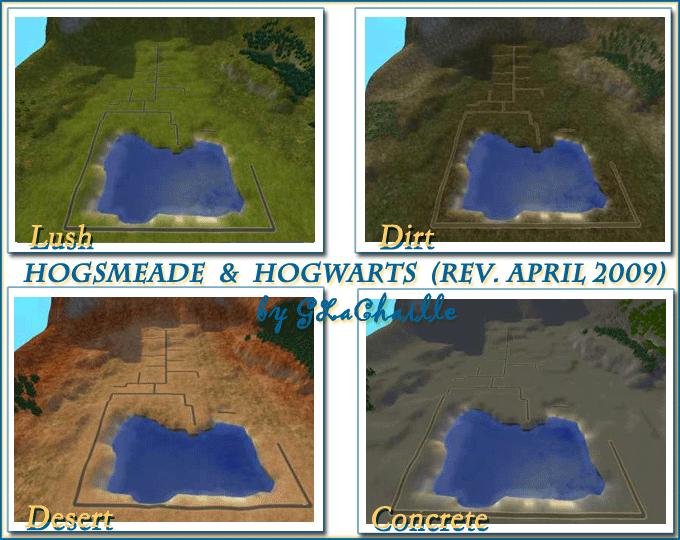 Hogsmeade / Hogwarts (Updated Version) Hogwarts and Just Hogwarts (2007 Mike