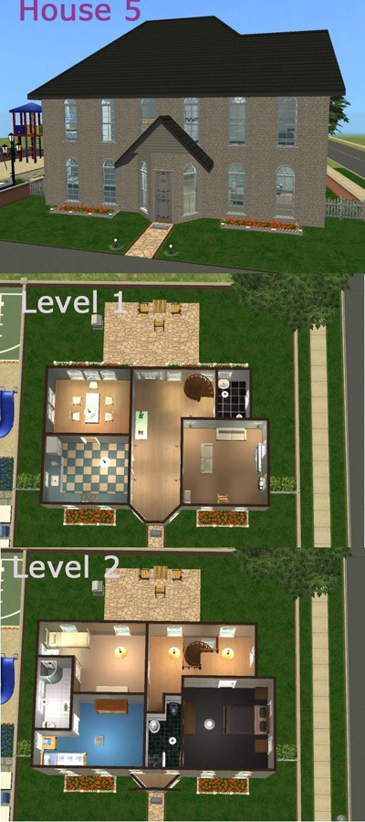 House Layouts For Sims 3 Image Search Results