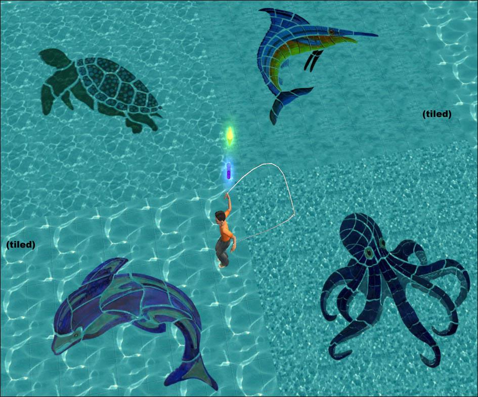 The Sims  Terrain Paints On Floors