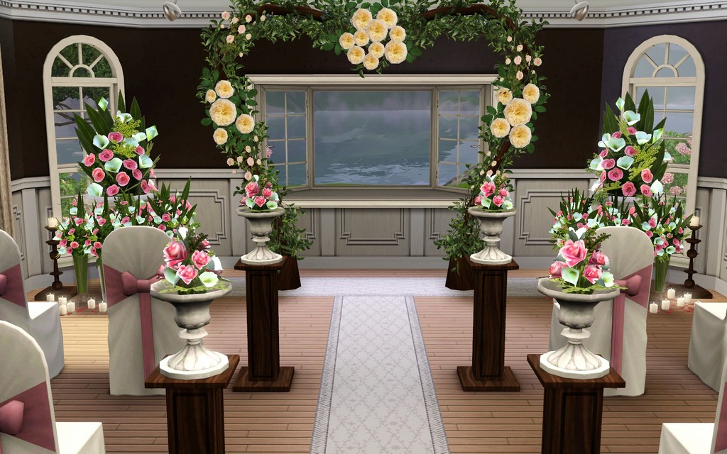 how to hold a wedding in sims 3