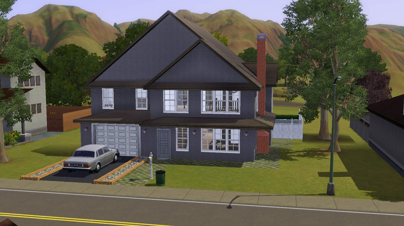 Mod the sims suburban family home for The family house