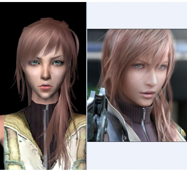 Mod The Sims - Lightning from Final Fantasy XIII (Update !!!)