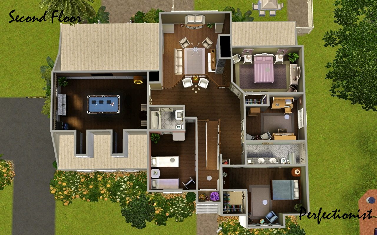 Sims 3 5 bedroom house 28 images mod the sims 3 for Sims 3 6 bedroom house
